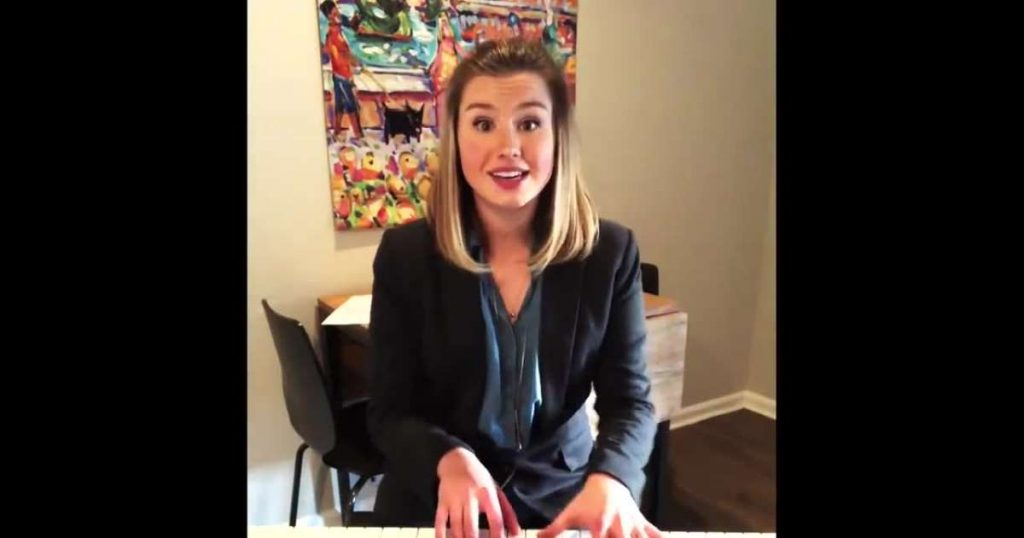 WATCH: Woman Writes Song for a Job Interview