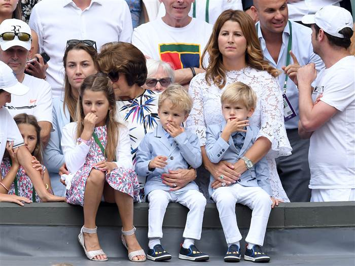 Roger Federer won't force his kids to play tennis