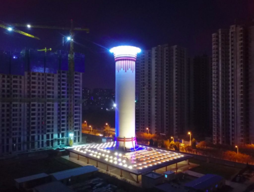China built the biggest air purifier in the world