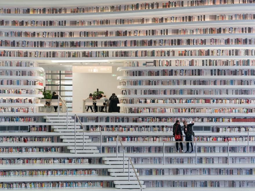 World's Most Futuristic Library, And Its Interior Will Take Your Breath Away