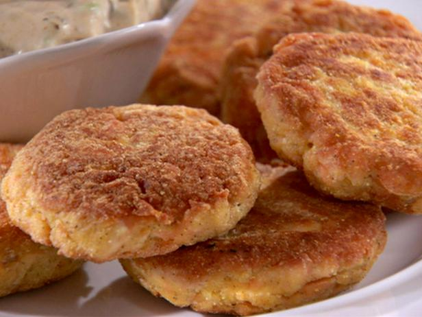 Salmon Croquettes — Impressive dinner item is ready to eat