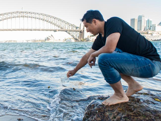 CSIRO scientists develop new way to purify polluted water