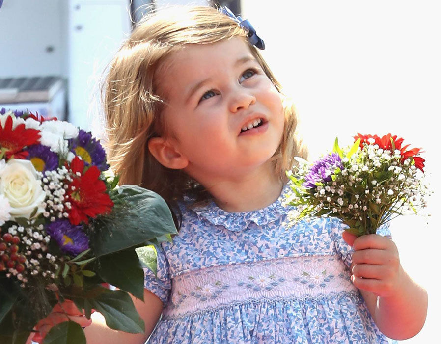 Princess Charlotte's place in line for the throne remains unchanged