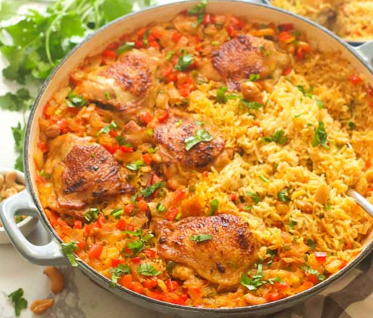 Chicken Biryani – It'll appear regularly in your weekly menu!