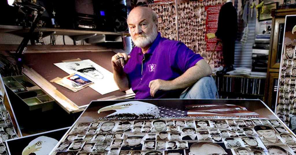 Veteran Draws The Faces Of Fallen Soldiers To Help Families Heal