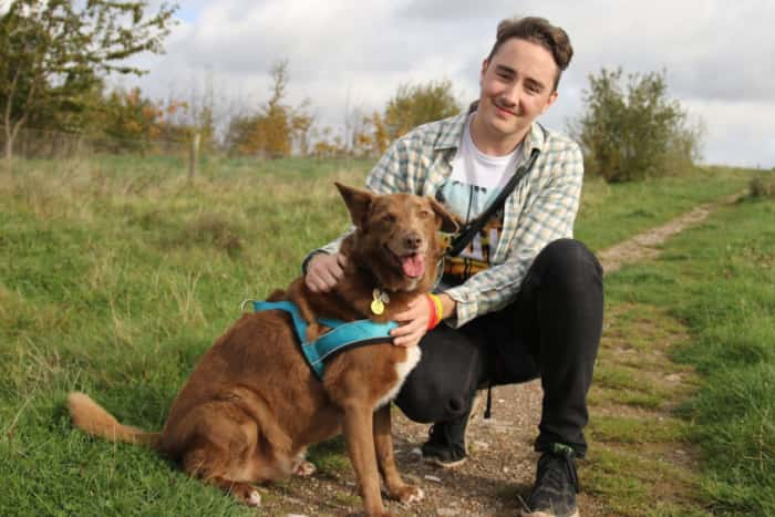 Rescue dog helps man with Asperger Syndrome get through everyday life