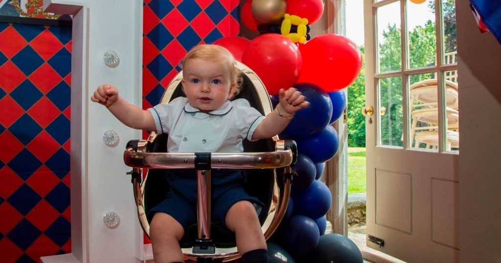 Grandma Spends £16,000 On Her Grandson's First Birthday Party