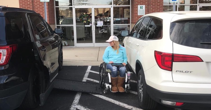 Woman's Facebook Post About Handicapped Spots Will Make You Think Twice About Bad Parking