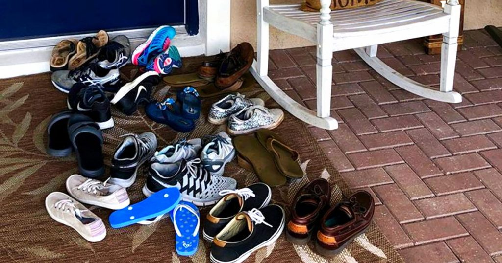 Mom Writes Sentimental Facebook Post About Her Son's 18 Summer And A Pile Of Shoes