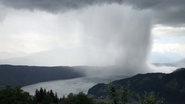 WATCH: Tsunami from Heaven'- Incredible Cloudburst Dumps Huge Amounts Of Rain In Short Space of Time