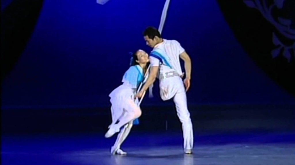 One Arm, One Leg…They complement each other beautifully in a moving ballet performance