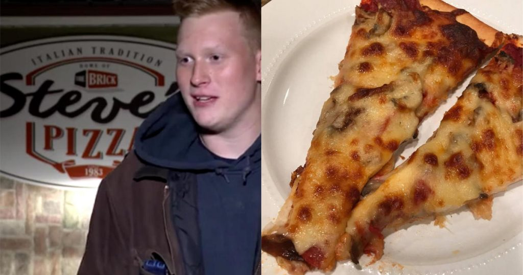 Michigan pizza shop makes surprise delivery to terminally ill man 225 miles away