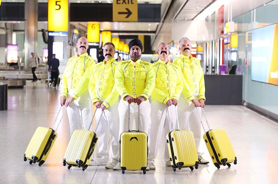 British Airways Pays Fantastic Tribute To Freddie Mercury On His 72nd Birthday