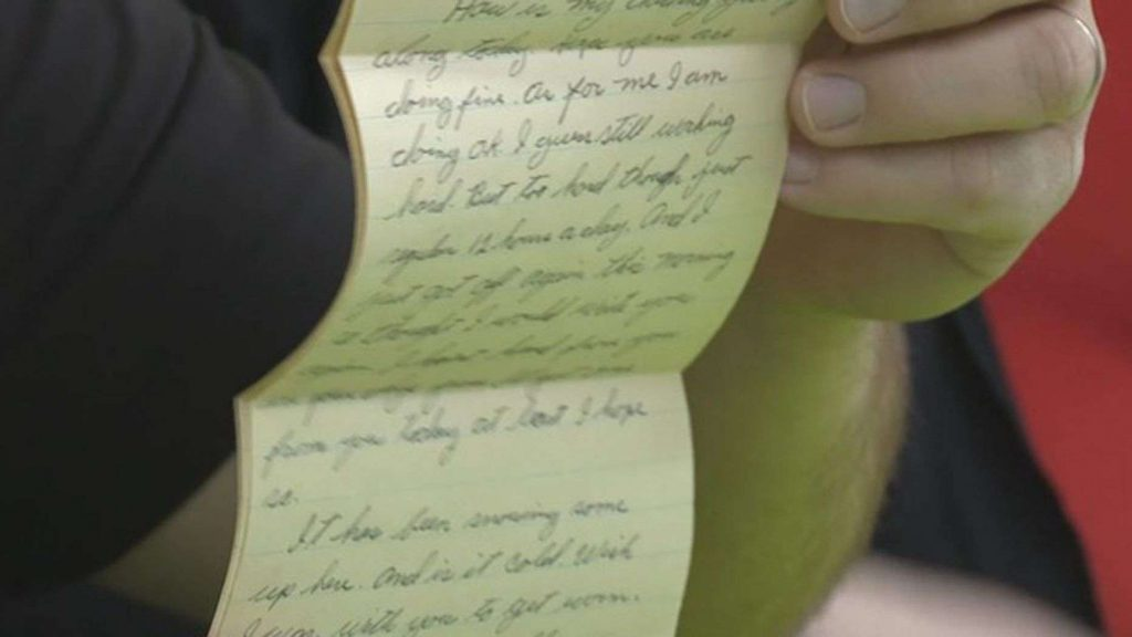 Love letter written by veteran in 1954 found in Georgia Walmart returned to rightful owners