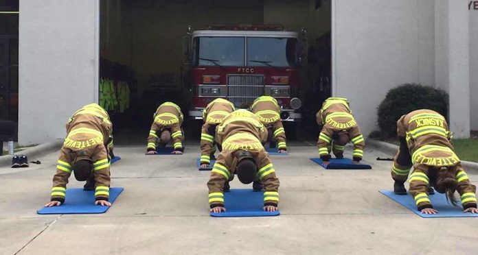Yoga Teacher Saves First Responders Across America From Depression