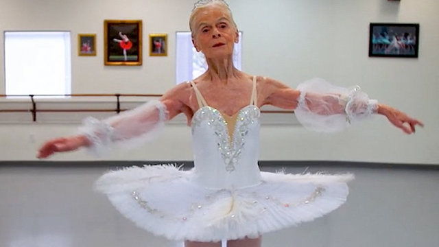 Meet the incredible Ballerina who is still performing 70 YEARS later
