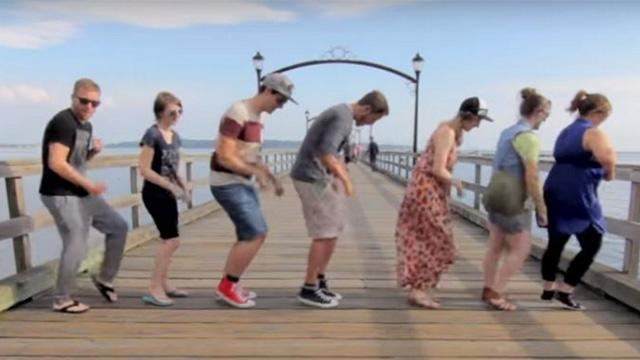 Stranger Travels The World Teaching People One Dance. Then Puts It All Together For A Spectacular Video