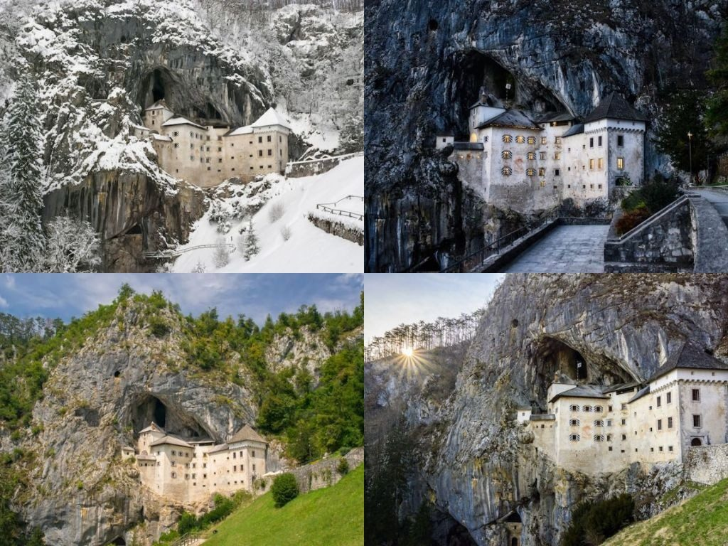 This Fairytale Castle is Built into the Side of a Cave