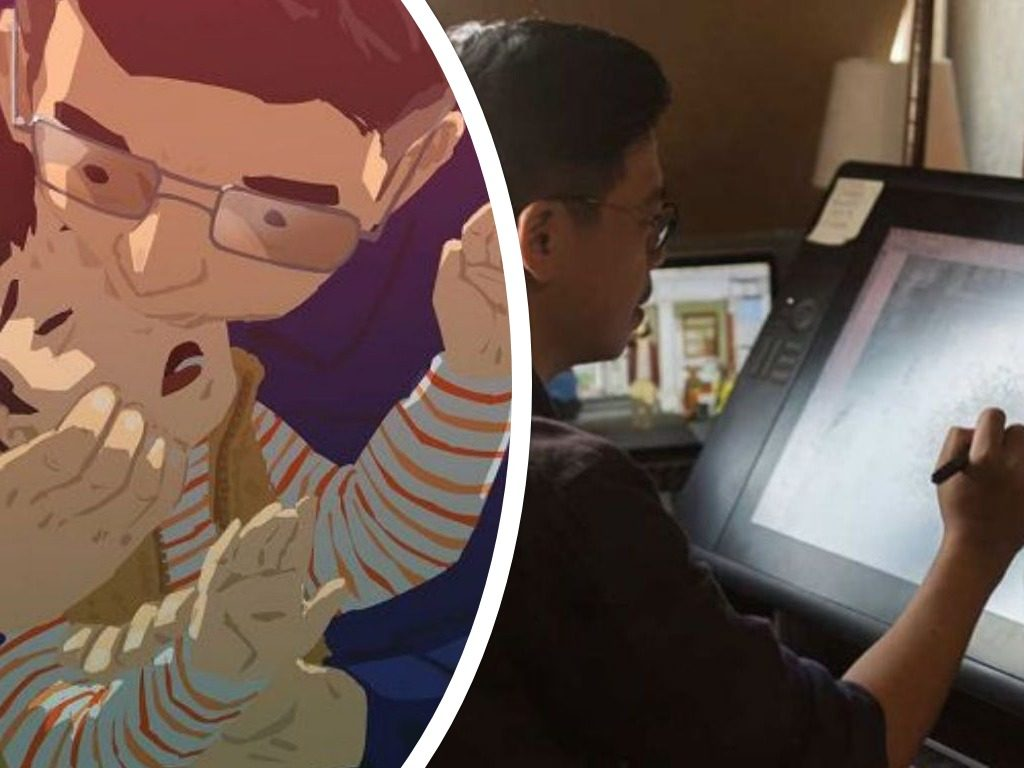 Single Dad Illustrates What It's Like To Raise A Child, And It'll Melt Your Heart