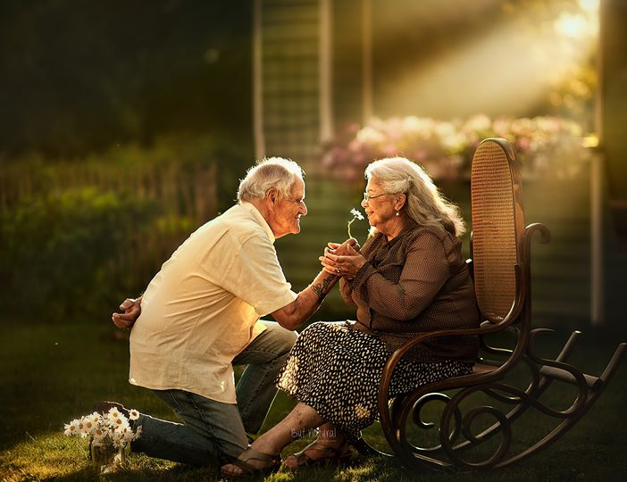 Photographer Takes Magical Photos Of Elderly Couples