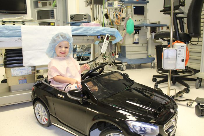 Hospital Lets Kids Drive Themselves to Surgery in Toy Cars to Help Overcome Fear