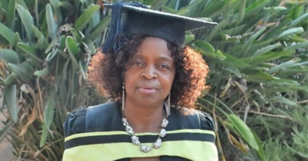 64-year-old woman proves that age is just a number in matters education