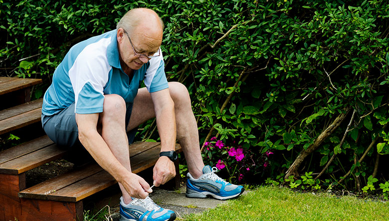 Newly Invented Shoes With GPS to Track Elderly Family Members With Alzheimer's and Prevent Them From Getting Lost