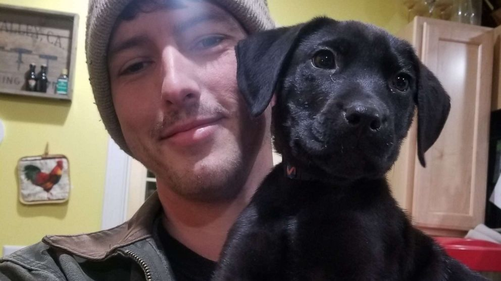 Deaf man adopts adorable deaf rescue pup and teaches him sign language