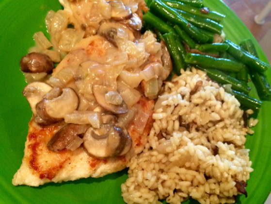 An excellent recipe! Chicken With Mushrooms and Mustard