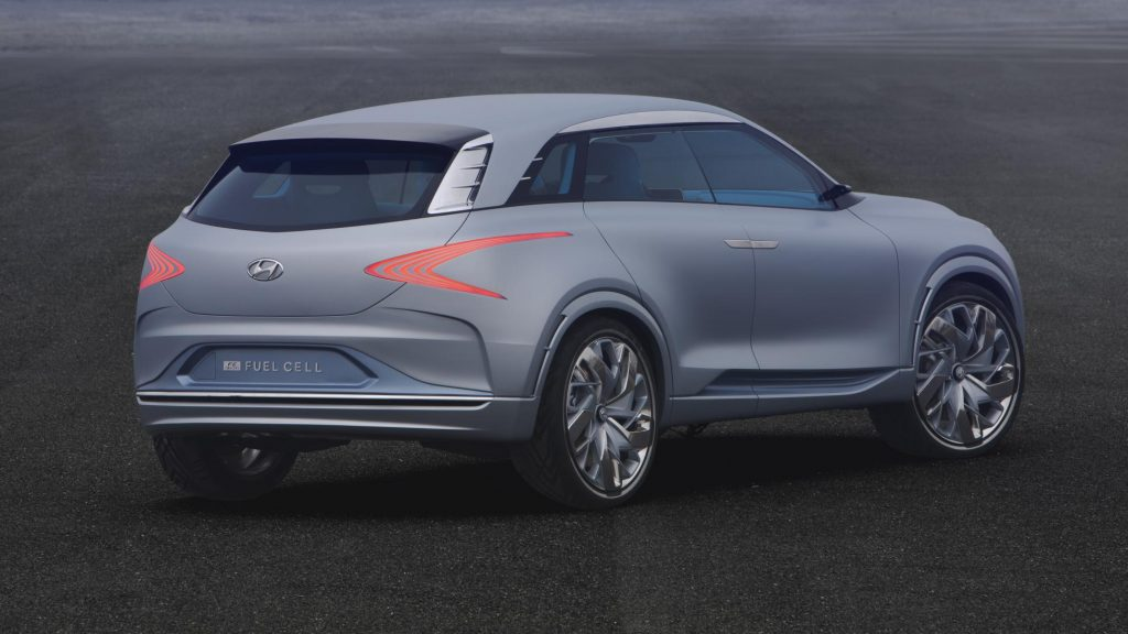 Hyundai has built a hydrogen fuel cell concept