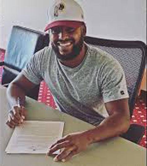 Bob Marley's grandson Nico signs NFL contract with Washington Redskins