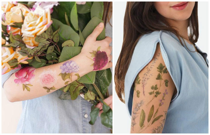 Have you ever seen a fragrant tattoo?  They smell better than expensive perfume (PHOTOS)