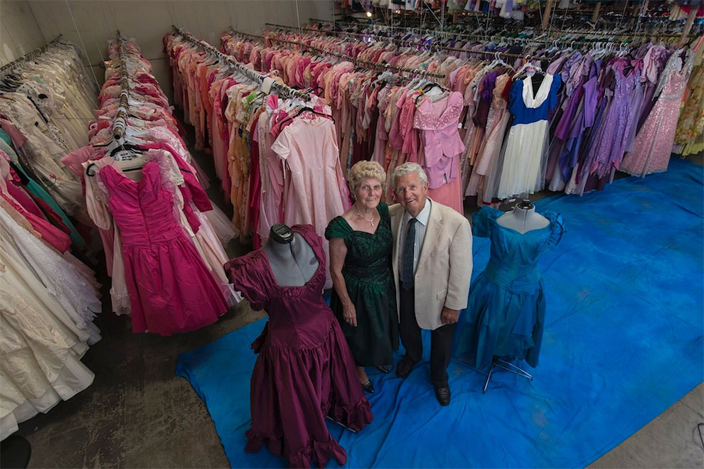 Paul Brockman's Collection Of 55,000 Dresses Bought For His Wife