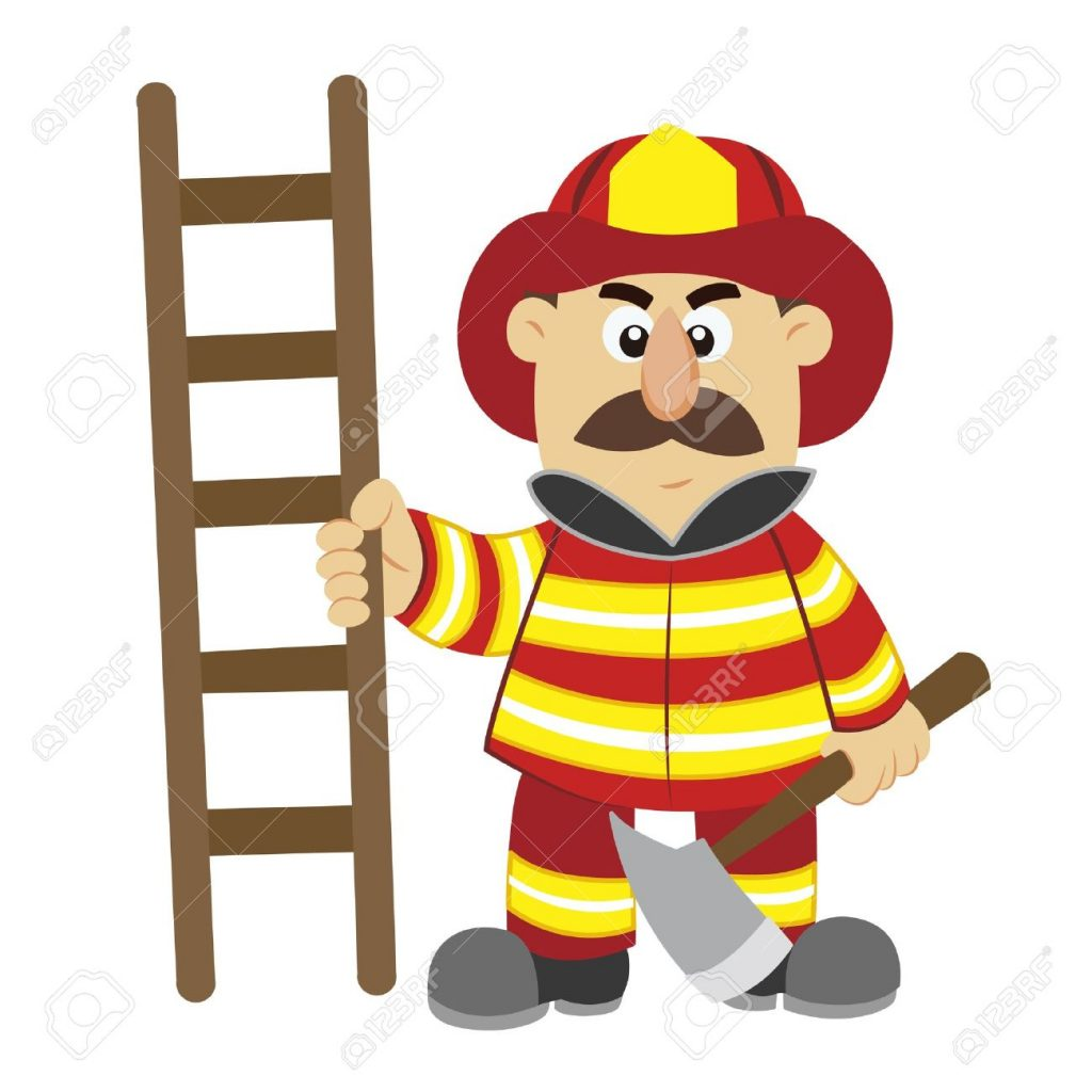 The fireman came down the ladder pregnant…