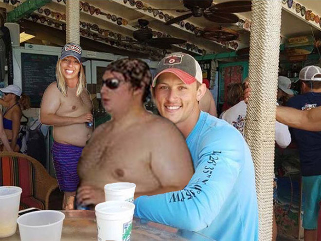A Couple Asked If Anyone Could Remove The Shirtless Man. The results are absolutely hilarious!