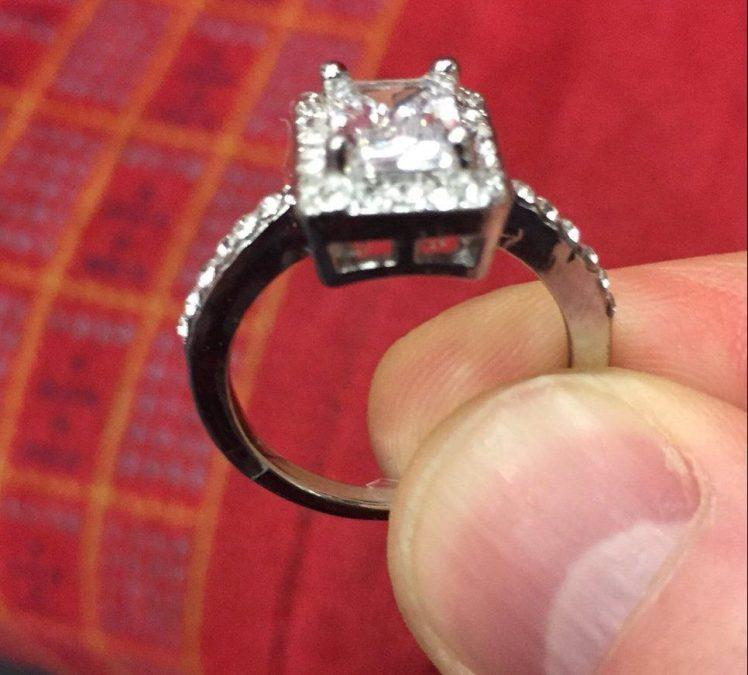 Man launches social media campaign to reunite woman with lost ring he found on a train