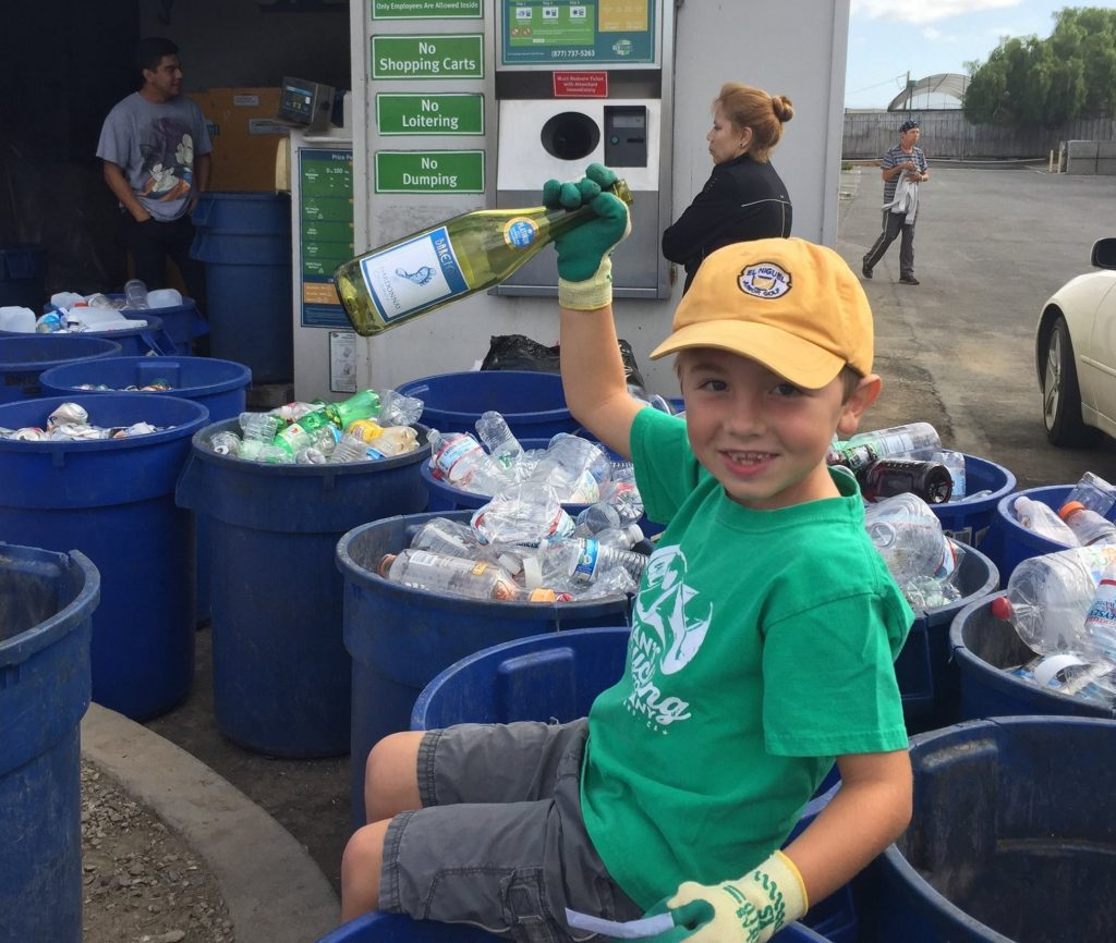 California boy, 7, Runs His Own Recycling Business