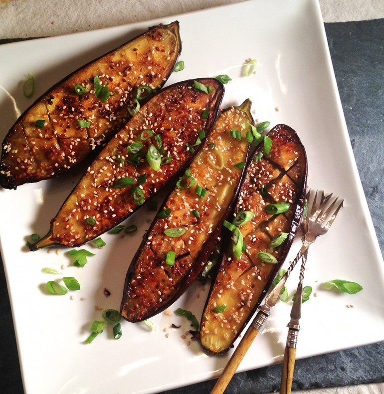 Miso-Glazed Eggplant — An interesting snack recipe that you can cook for your loved ones