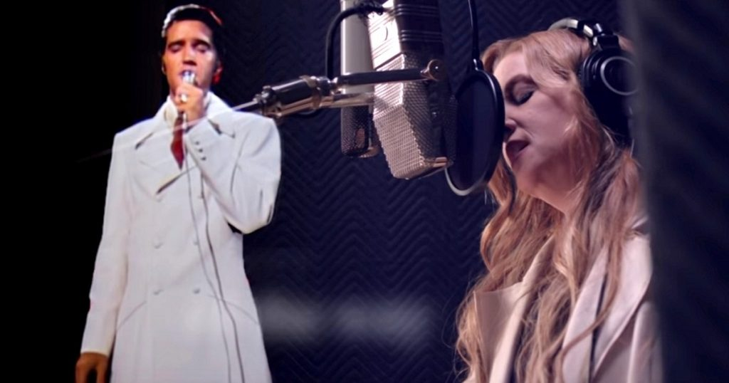 Lisa Marie Presley Duets with father Elvis, And It's Reducing Everyone To Tears