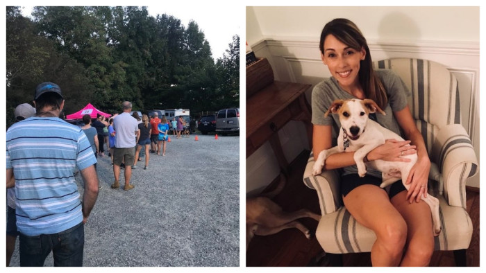 NC Residents Line Up to Help Keep the Animals Safe During Hurricane Florence