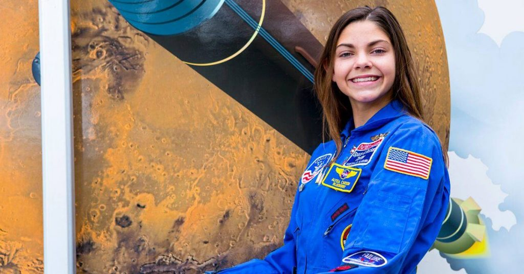 17-year-old US teen Is Training to Become One of the First Humans on Mars