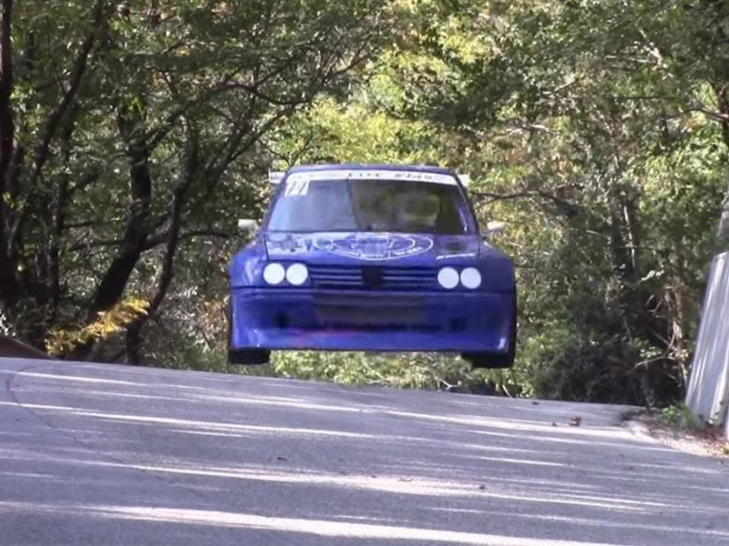 Peugeot 205 RS16 Evo II is the fastest Peugeot you'll see today