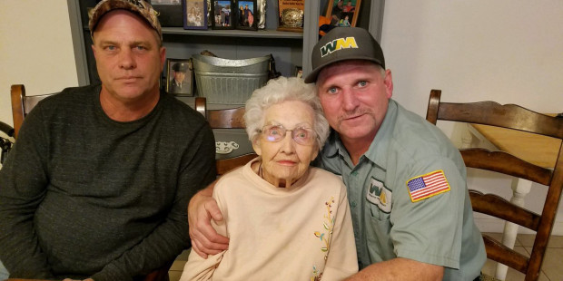 93-year-old woman saved From California Wildfire by Garbage Collector