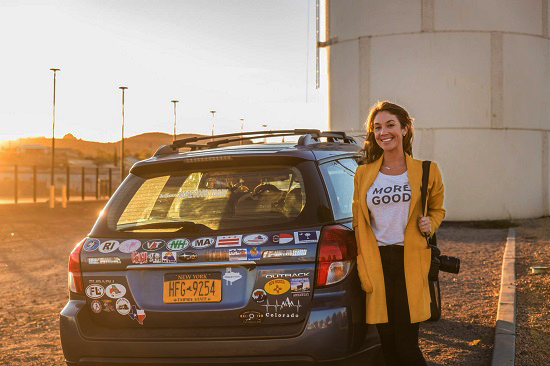 Woman is Traveling Through 50 States to Collect Stories of Kindness