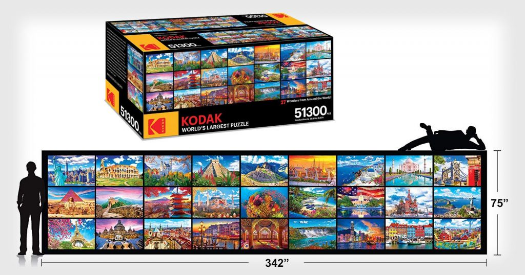'World's Largest Puzzle' Has 51,300 Pieces and a $600 Price Tag