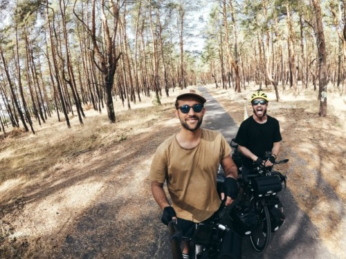 2 Best Friends are Biking 10,000 Miles To Build A School